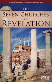 Seven Churches Of Revelation Chart The Seven Churches Of Revelation Pamphlet