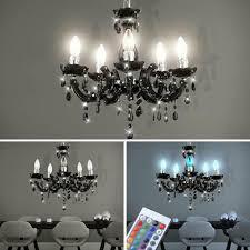 Led Kronleuchter Ess Lampe Pendel Decken Fernbedienung Rgb