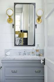 wall sconces for bathroom. gray and gold bathroom design wall sconces for n