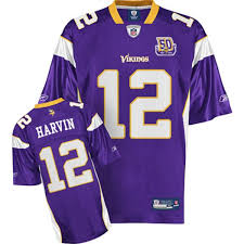 Shipping 12 Free Patch Sale Harvin With Vikings Percy Purple Jersey Cheapest Stitched Team Nfl 50th