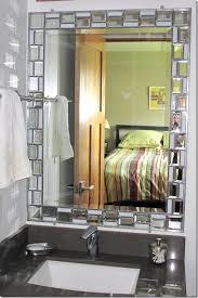 bathroom mirror frame tile. Wonderful Tile Stick On Frames For Bathroom Mirrors Ulsga With Regard To Borders In  Bathrooms Inspirations 13 Mirror Frame Tile