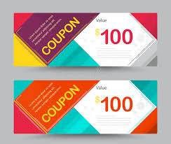 coupon design gift voucher coupon template design for special time coupon temp