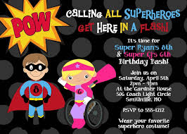 superheroes birthday party invitations special needs wheelchair superhero birthday party invitations