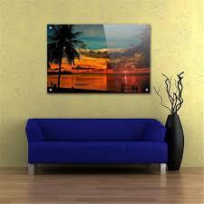 custom wall canvas lovely acrylic wall art glossy lobby display contemporary