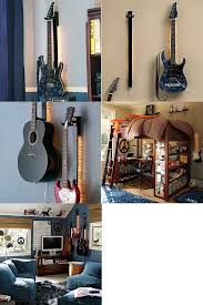 lighted guitar wall mount photo 2
