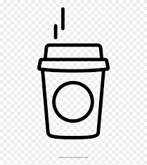 Small Coffee Coloring Page Starbucks Coffee Coloring Page Free
