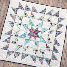 Fort Worth Fabric Studio: Blue Carolina Starburst Quilt {Free Pattern} & Blue Carolina Starburst Quilt {Free Pattern} Adamdwight.com