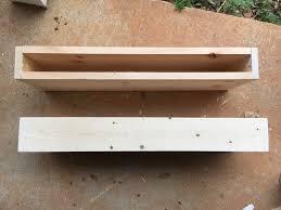 diy floating shelf homemade floating shelf ideas