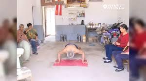 ปรมาจารย์ด้านการวิดพื้น! สั่งสมมา 10 ปี จนได้ถึง 230  ครั้งในลมหายใจเดียวXinhuaThai