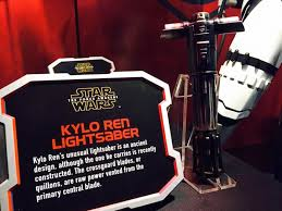 kyloren lightsaber prop plaque 700x525