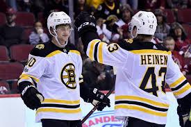 Bruins' Danton Heinen, Anders <b>Bjork Drawing</b> Interest