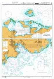 Bvi Navigation Charts Admiralty Chart 2020 Harbours And Anchorages In The