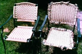 webbed patio chairs macrame reweaving of patio chair has site for vinyl webbing rolls re webbing