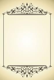 antique picture frames vector. Vintage Frame Vector-5 Antique Picture Frames Vector