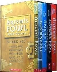 artemis fowl boxed set bks 1 5 artemis fowl 1 5