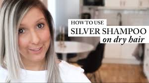 HOW TO USE SILVER SHAMPOO | BEST RESULT | DRY HAIR ...