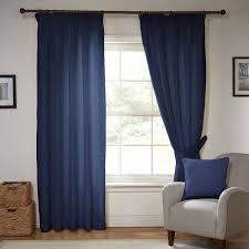 luxury blue curtains eyelet blackout tab top lined julian camden indigo textured pencil pleat pair