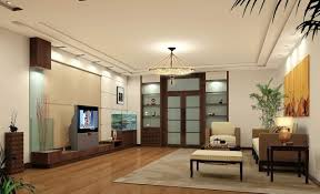 Ceiling wall living room