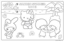 サンリオキャラクターの塗り絵ぬりえ まとめ Naver まとめ