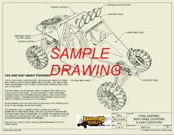 st two seat desert buggy plans badland buggy st4 sample drawing 09