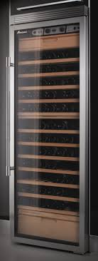amana precision wine cooler clear glass door jpg