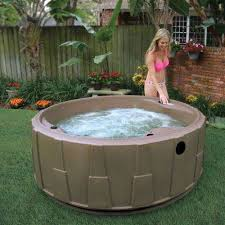 premium 200 5 person plug and play hot tub with 20 stainless jets heater