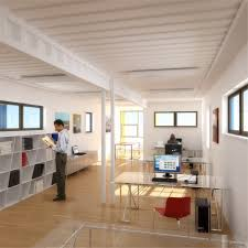 tiny office design. Box Office Interior Rendering Tiny Design