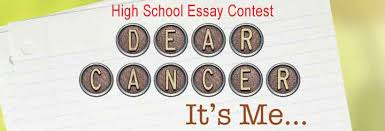 "home cancer support community vvsb cancer support education  ""dear cancer it s me "" essay contest"