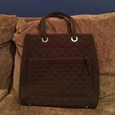 86% off Vera Bradley Handbags - Vera Bradley quilted chocolate ... & Vera Bradley quilted chocolate brown tote bag Adamdwight.com
