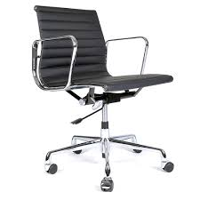 eames office chair mid back leather  mellcarth  wholesale
