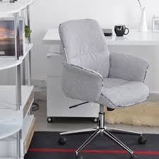 comfortable home office. Mid Back Desk Task Chair Home Office Comfortable Padded Seat Swivel Chairs  Gray Comfortable Home Office S