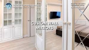 fantastical custom wall mirrors simple design decor custom wall mirrors superior frameless showers toronto nj maryland atlanta houston
