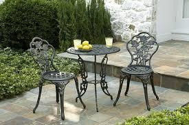 wrought iron patio set outdoor furniture ideas