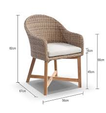 furnitures magnificent outdoor wicker dining chairs coastal wicker outdoor dining chair with teak timber legs 10