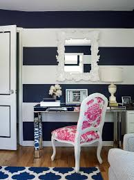 home office dark blue gallery wall. Home Office Dark Blue Gallery Wall. Plain New York Navy Decor With  Modern Table Wall R
