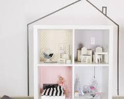ikea dollhouse furniture. Wall Decal Lille Stuba For Dollhouse IKEA Kallax Shelf Pink/grey (1W-SH04 Ikea Furniture A