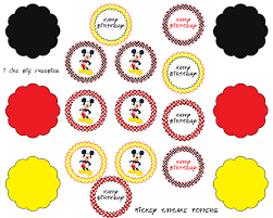 Baby Mickey Mouse Edible Cake Decorations Cupcake Toppers Mickeypng 16001280 Pixels Mickey Mouse