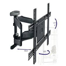 extendable wall bracket for screen tv mount automated swing arm