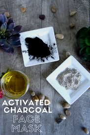 this powerful diy activated charcoal face mask brightens and evens out skin tone its purifying