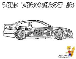 Full Force Race Car Coloring Pages Free Nascar Adult Coloring