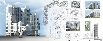 Дипломный проект Многоэтажный жилой дом Фрилансер Ира Сазонова  Дипломный проект Многоэтажный жилой дом