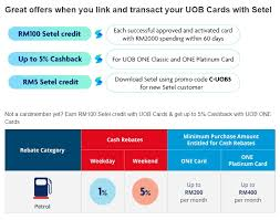 uob and cimb offer cashback promos for