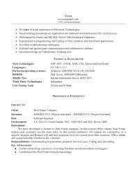 Resume Work Experience Format Gorgeous Resume Format For 28 Months Experienced Software Engineer Resume