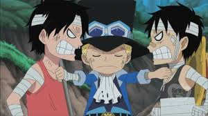 one piece 495 sabo breaks up ace and