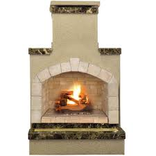 48 in propane gas outdoor fireplace