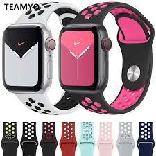Giá bán Dây Đeo Silicon Mềm Cho Đồng Hồ Thông Minh Apple Iwatch T500