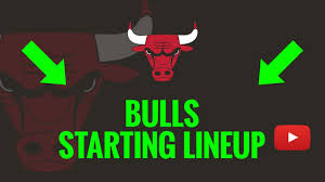 Bulls Depth Chart 2019 20 Chicago Bulls Starting Lineup Today