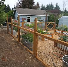 garden fence. Garden Fence Ideas E