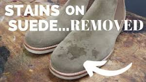 how to clean suede nubuck using suede