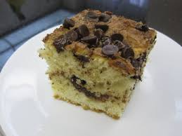 Next, you'll beat the unsalted butter until it's smooth and creamy. Chocolate Chip Coffee Cake Recipe Cooking With Alison
